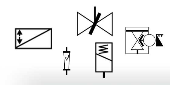 symboles vannes de process