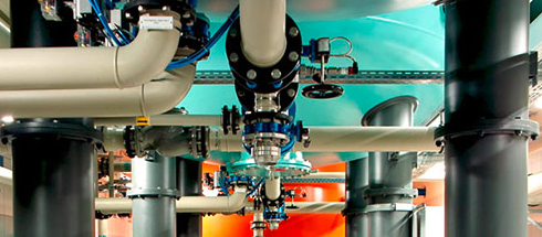 GEMÜ butterfl y valves at the Trollmühle Waterworks - Uranium removal and partial deionization using Uranex® and Carix® procedures